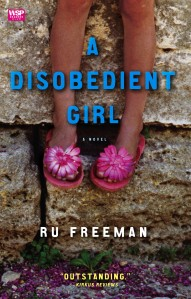 Cover for A DISOBEDIENT GIRL