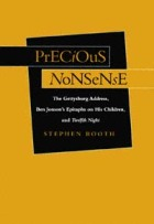 PRECIOUS NONSENSE by Stephen Booth