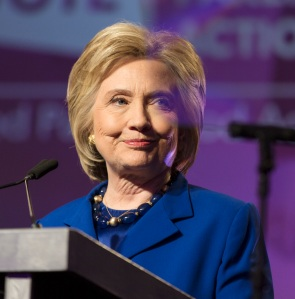 Hillary at a Planned Parenthood event, Washington, DC, June 2016 (photo by Lorie Shaull from Wikimedia Commons)