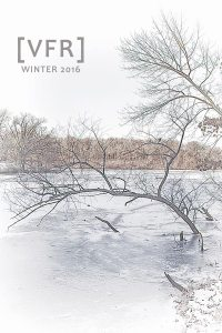 VALPARAISO FICTION REVIEW cover, Winter 2016